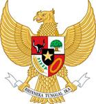 Герб страны Индонезия