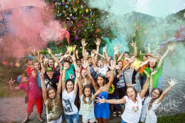 Детский оздоровительный лагерь в Карпатах Петрос - 2017