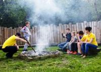 Детский отдых в карпатах, лагерь АРТЕК - ПРИКАРПАТЬЕ
