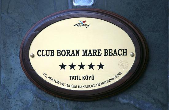 Отель Club Boran Mare Beach HV-1